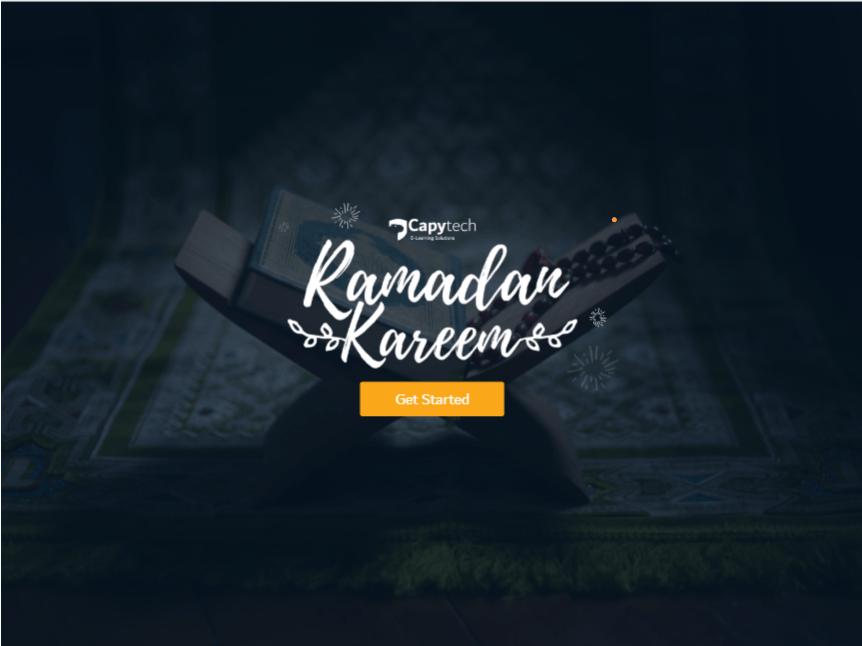 ramadan - E-learning Modules