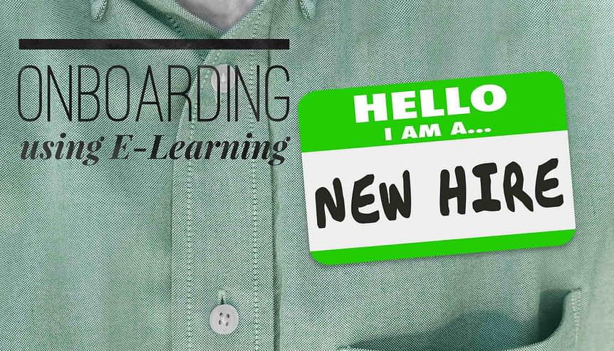 onboarding using e-learning